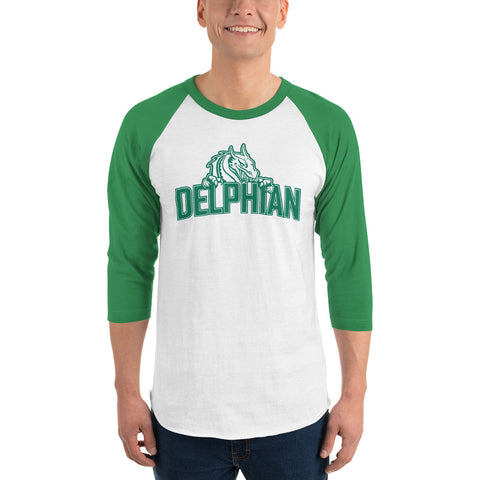 Dragon 3/4 sleeve raglan shirt