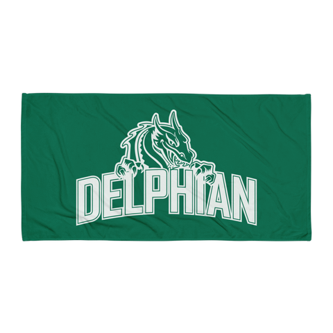 Dragon Beach Towel - Green
