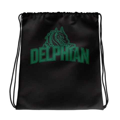 Dragon Drawstring bag