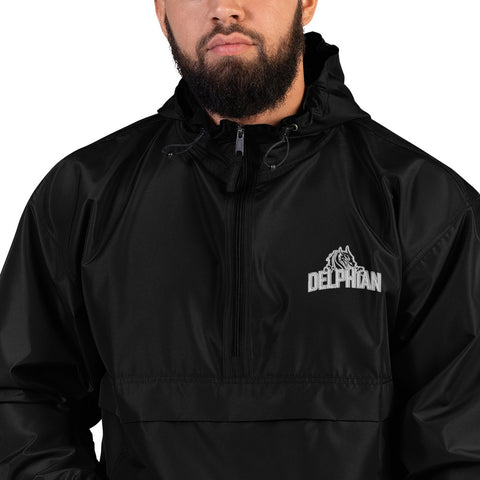 Delphian Embroidered Champion Packable Jacket