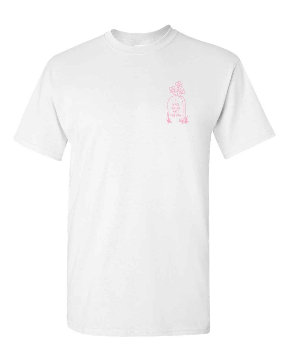 Gravestone Shirt (White)
