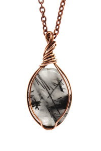 Black Rutilated Quartz ~ Copper