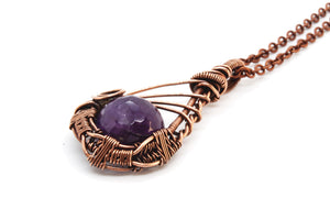 Amethyst ~ Copper