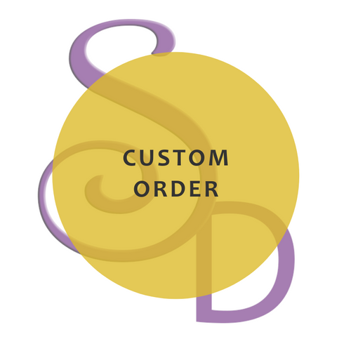Custom Order - H. Brown