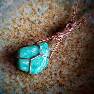Amazonite ~ Copper