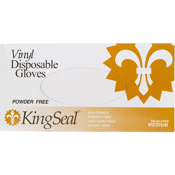 Vinyl General Purpose Grade Gloves, Powder-Free