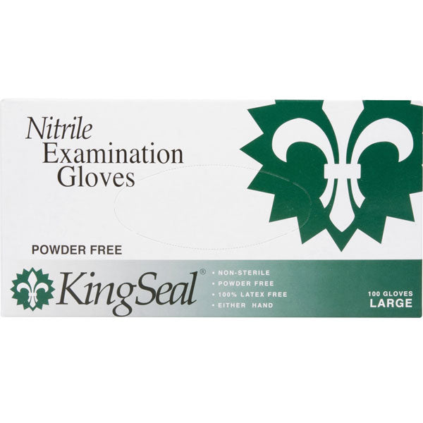 Nitrile Examination Gloves, Powder-Free