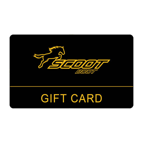 Scoot Boots Gift Card