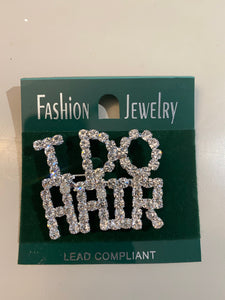 I DO Hair Bling Pin