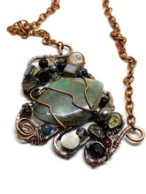 Labradorite Mosaic Necklace - Large