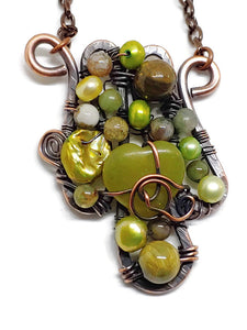 Serpentine Mosaic Necklace - Small