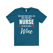 There Aren't Many Things I Love More Than Being a Nurse - Unisex Jersey Tee