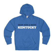 Drink Wine & Watch Kentucky - Unisex French Terry Hoodie