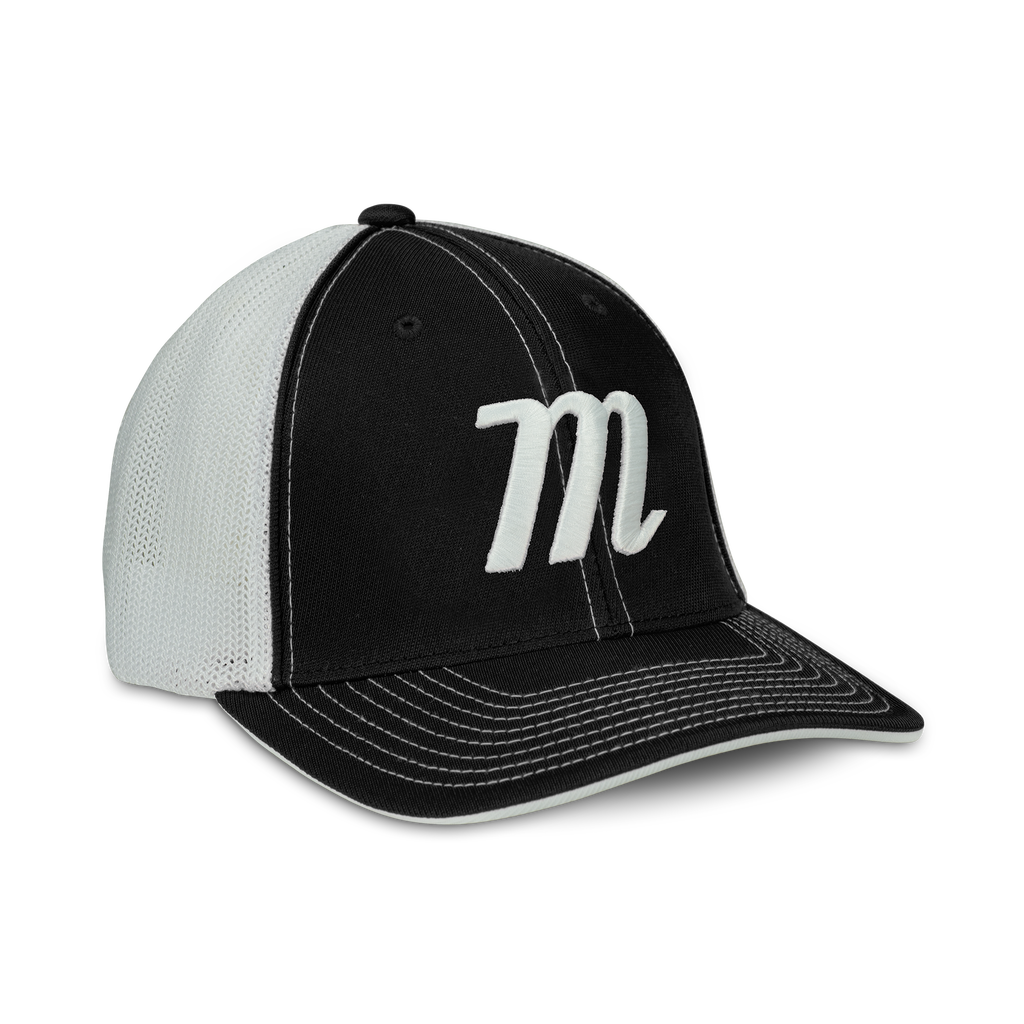 M LOGO TRUCKER HAT