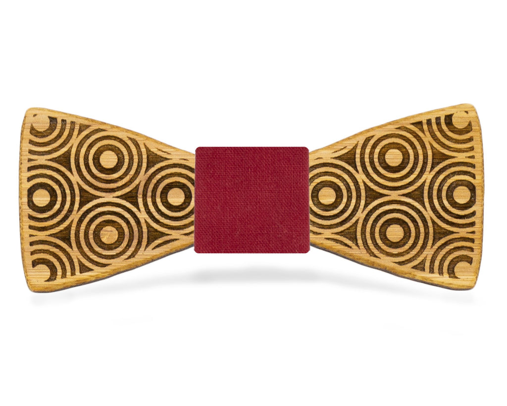 Circle Flair: Bamboo Bow Tie, rjostudio|HANDCRAFTED