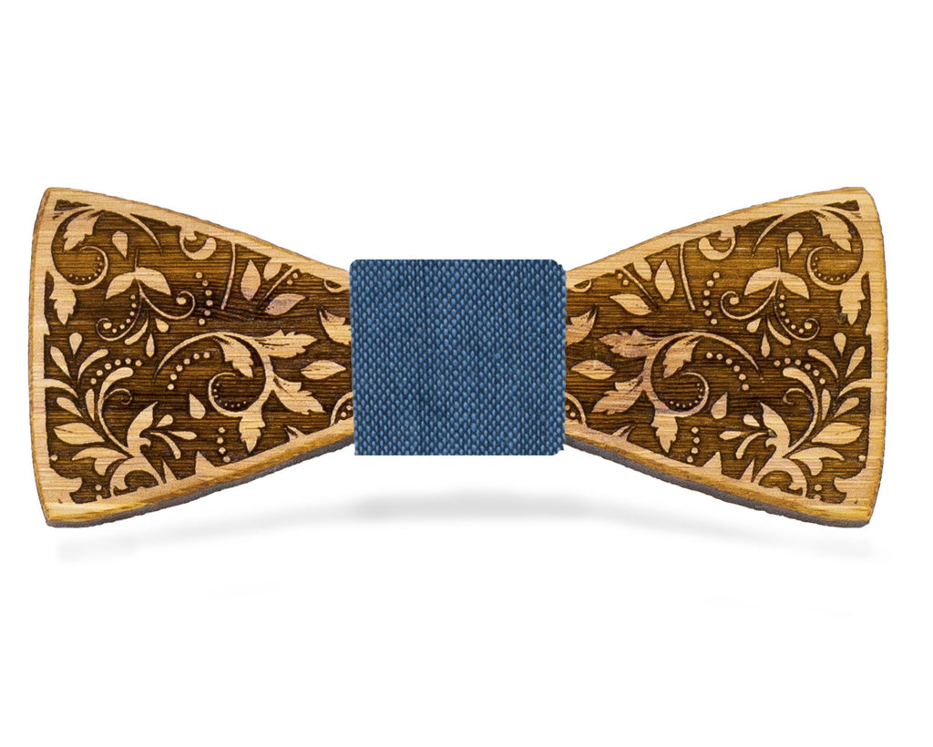 Floral: Bamboo Bow Tie, rjostudio|HANDCRAFTED