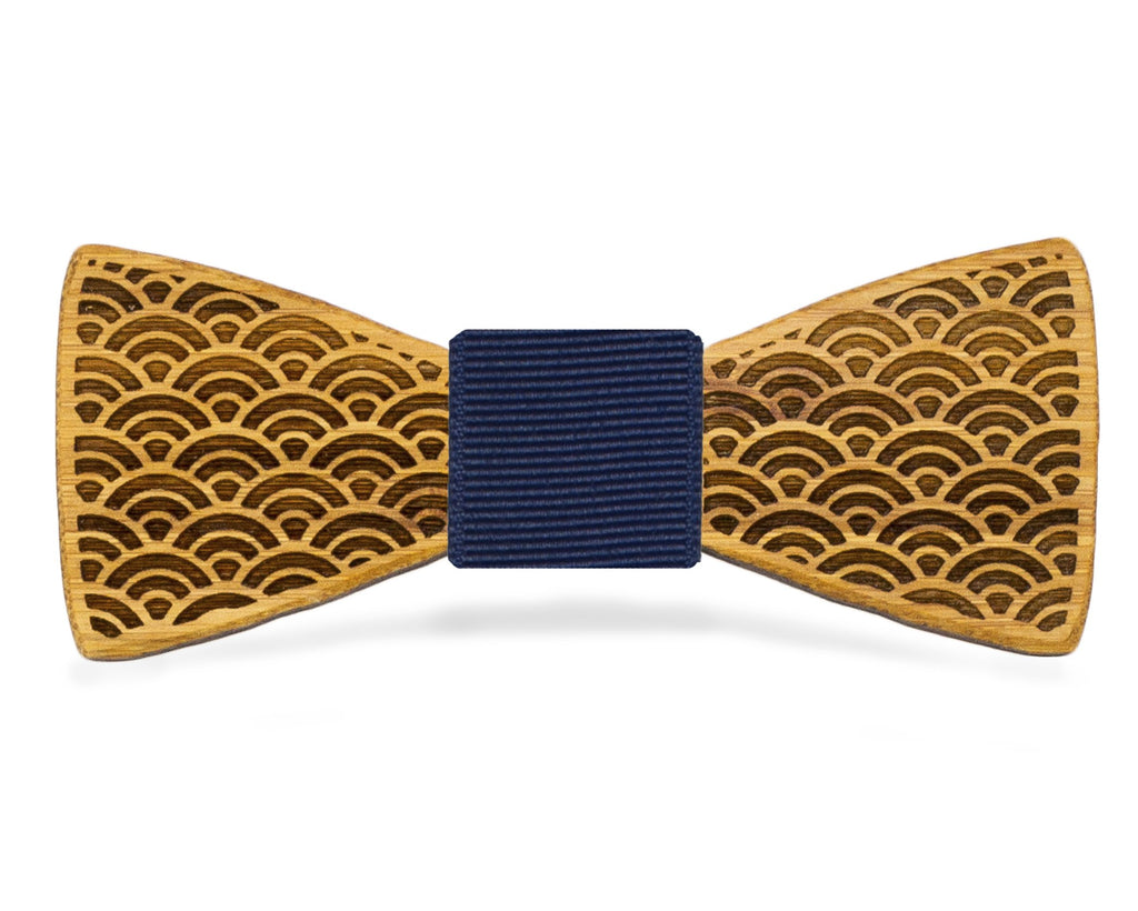 Japanese Fans: Bamboo Bow Tie, rjostudio|HANDCRAFTED