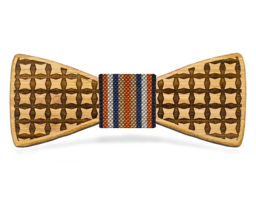 Pinched Squares: Bamboo Bow Tie, rjostudio|HANDCRAFTED