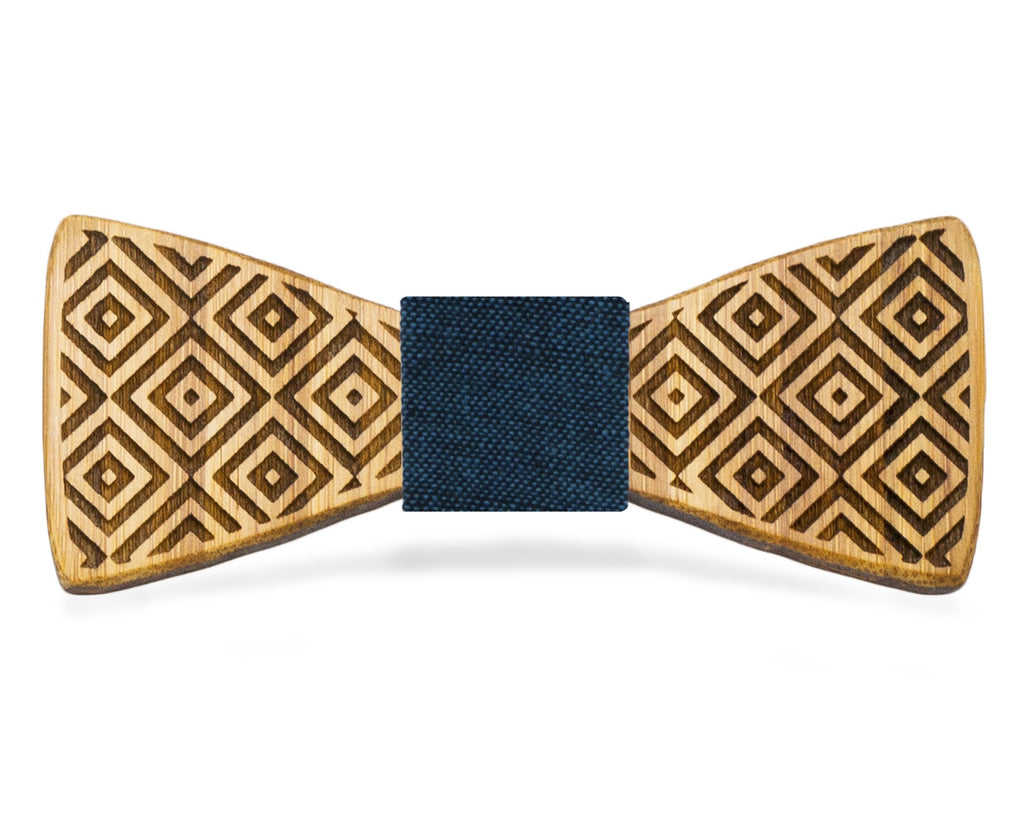 Square Flair: Bamboo Bow Tie, rjostudio|HANDCRAFTED