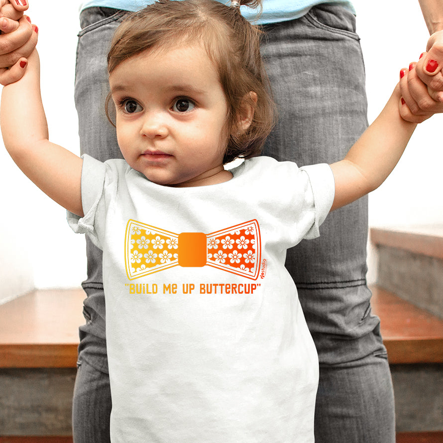 "Theme ""Build Me Up Buttercup"": Baby T-Shirt"