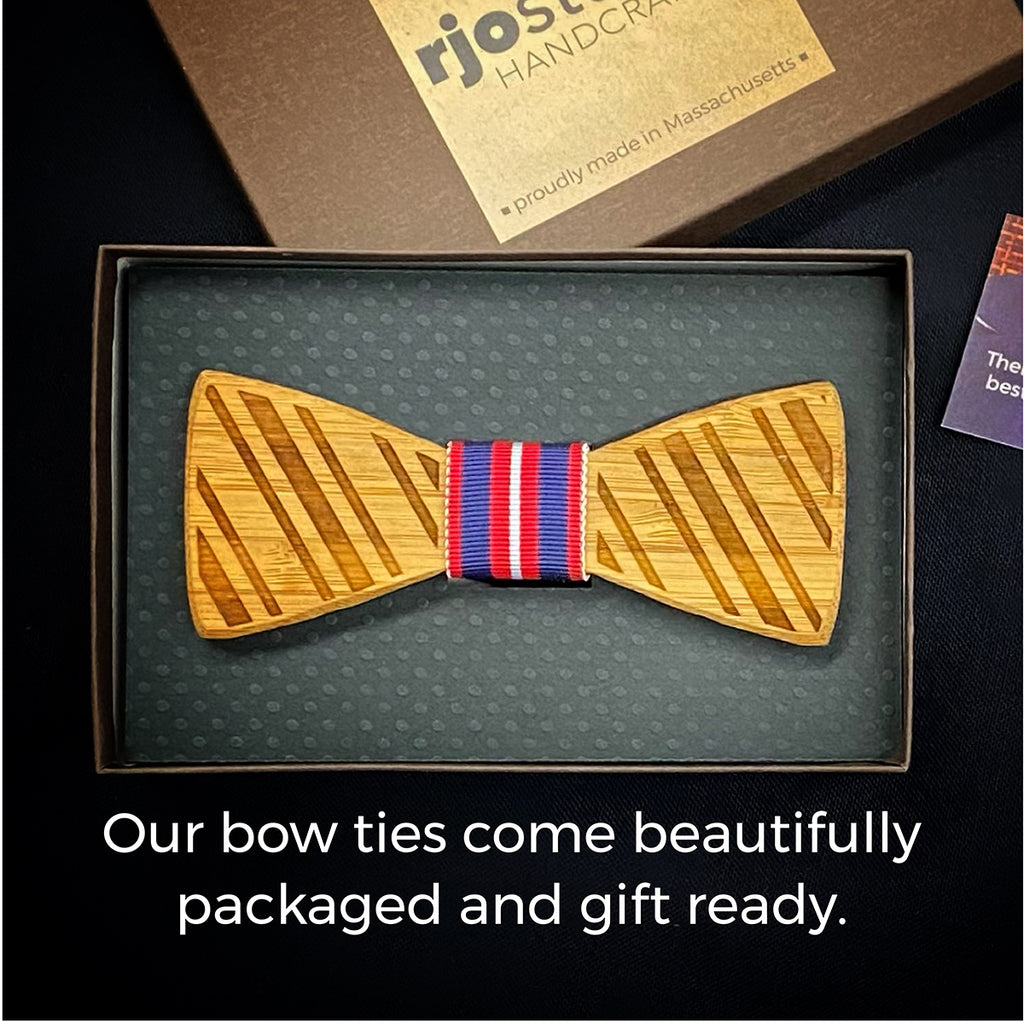 Luck of the Irish: Bamboo Bow Tie, rjostudio|HANDCRAFTED