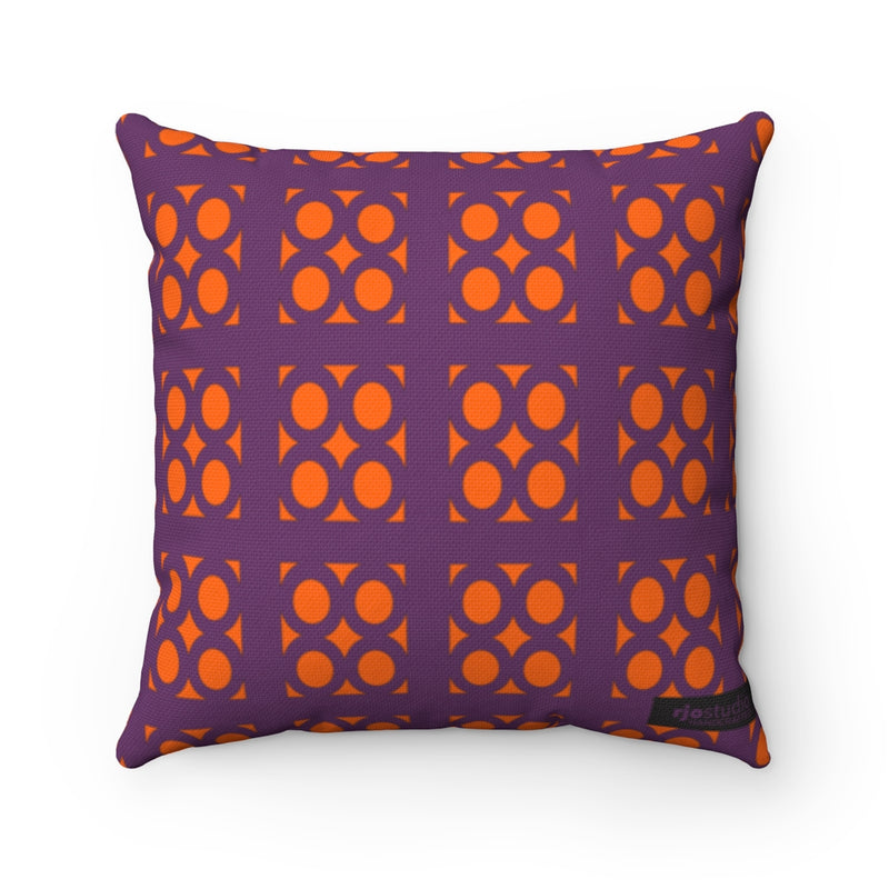 "Lantern ""Ovals"" Square Pillow"