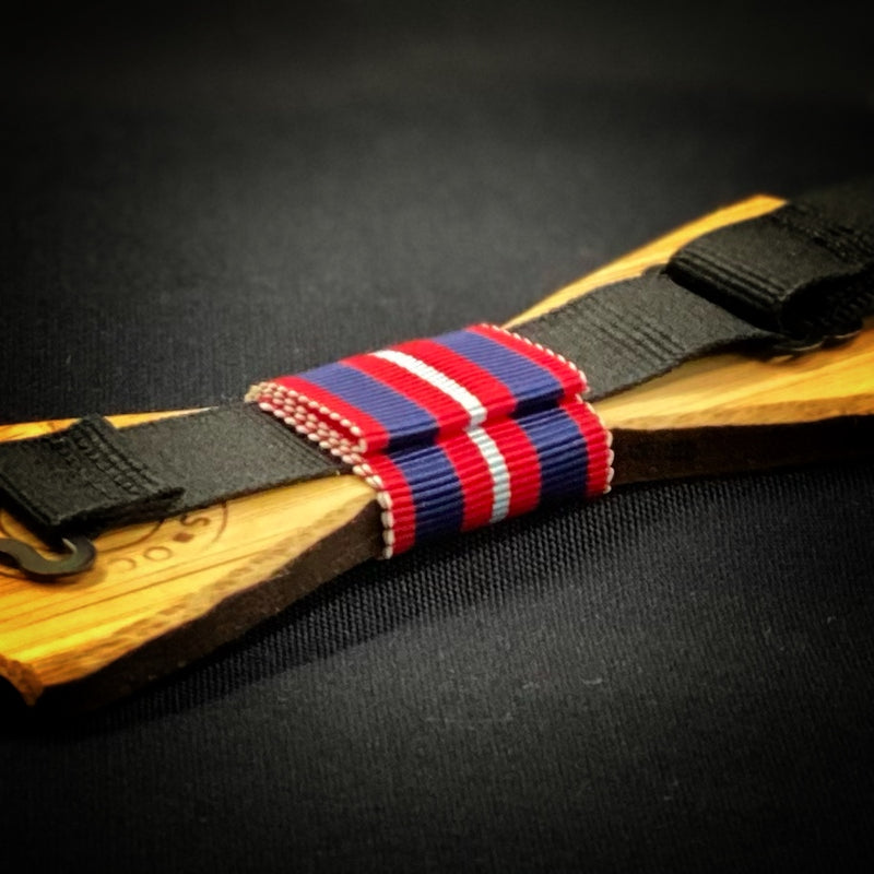 Independence Day: Bamboo Bow Tie, rjostudio|HANDCRAFTED