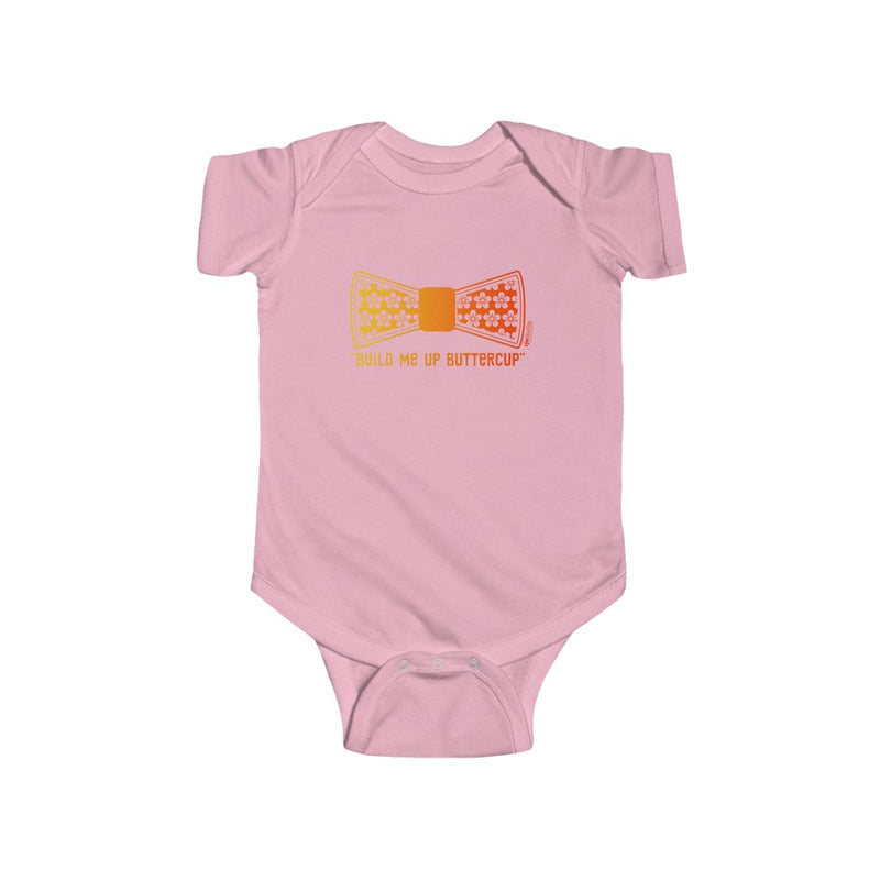 "Theme ""Build Me Up Buttercup"": Onesie"