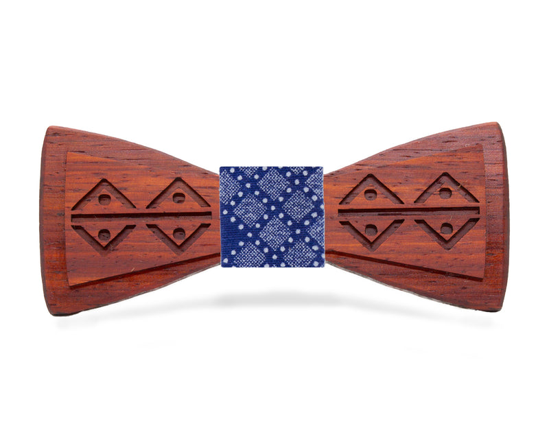 Thornybush African Safari Padauk Wooden Bow Tie