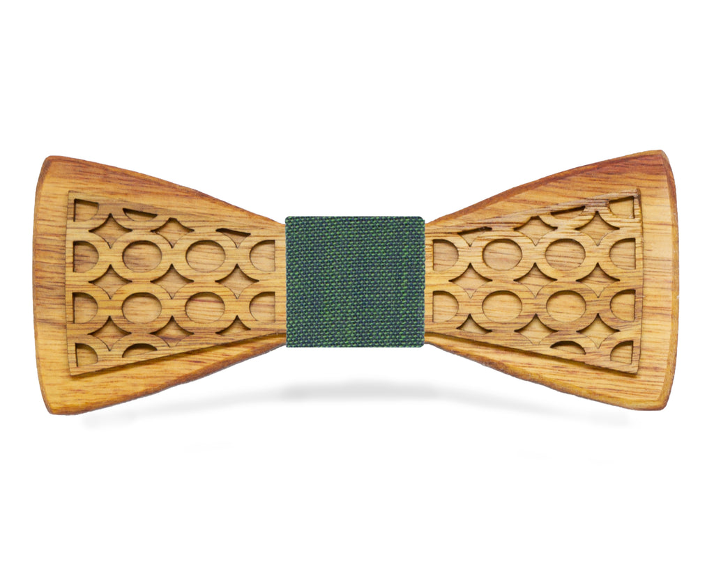 Canarywood Wooden Bow Tie