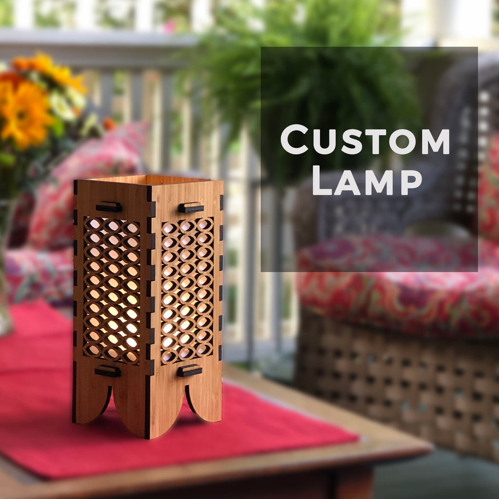 Custom Lamp, rjostudio|HANDCRAFTED