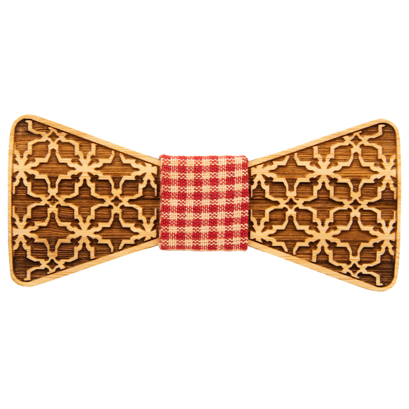 Arabian Bamboo Bow Tie | Wood Bow Ties by OG Studio Creations