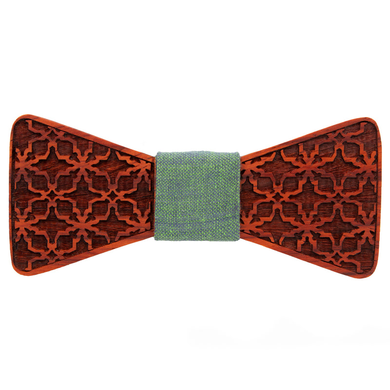 Arabian Padauk Wooden Bow Tie | Wood Bow Ties by OG Studio Creations