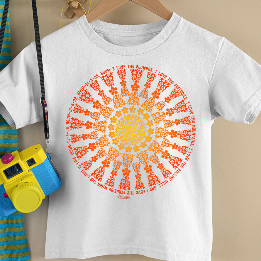 Mandala I Love Flowers: Toddler T-Shirt