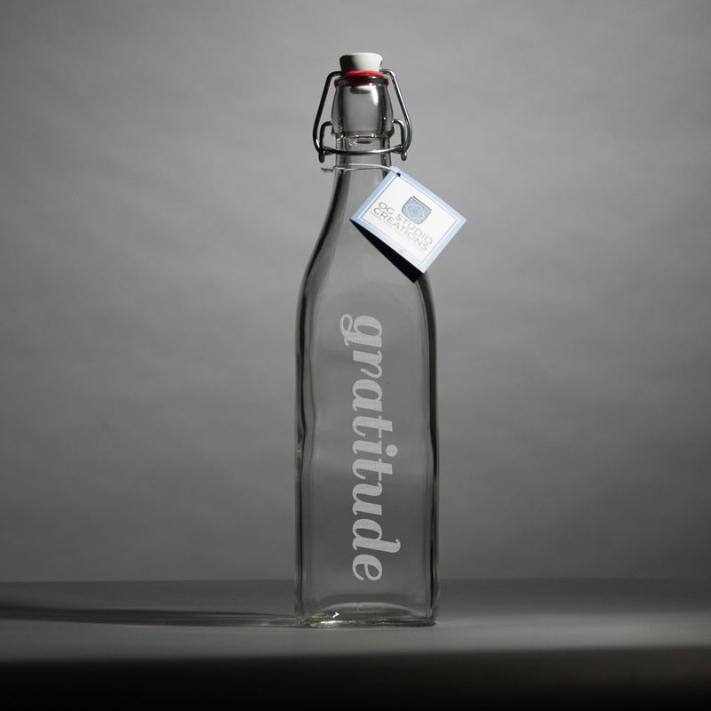 Gratitude in a Bottle, rjostudio|HANDCRAFTED