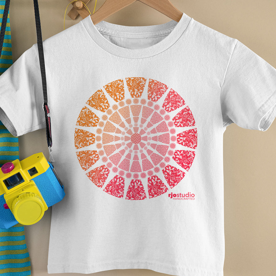 Mandala Red: Toddler T-Shirt