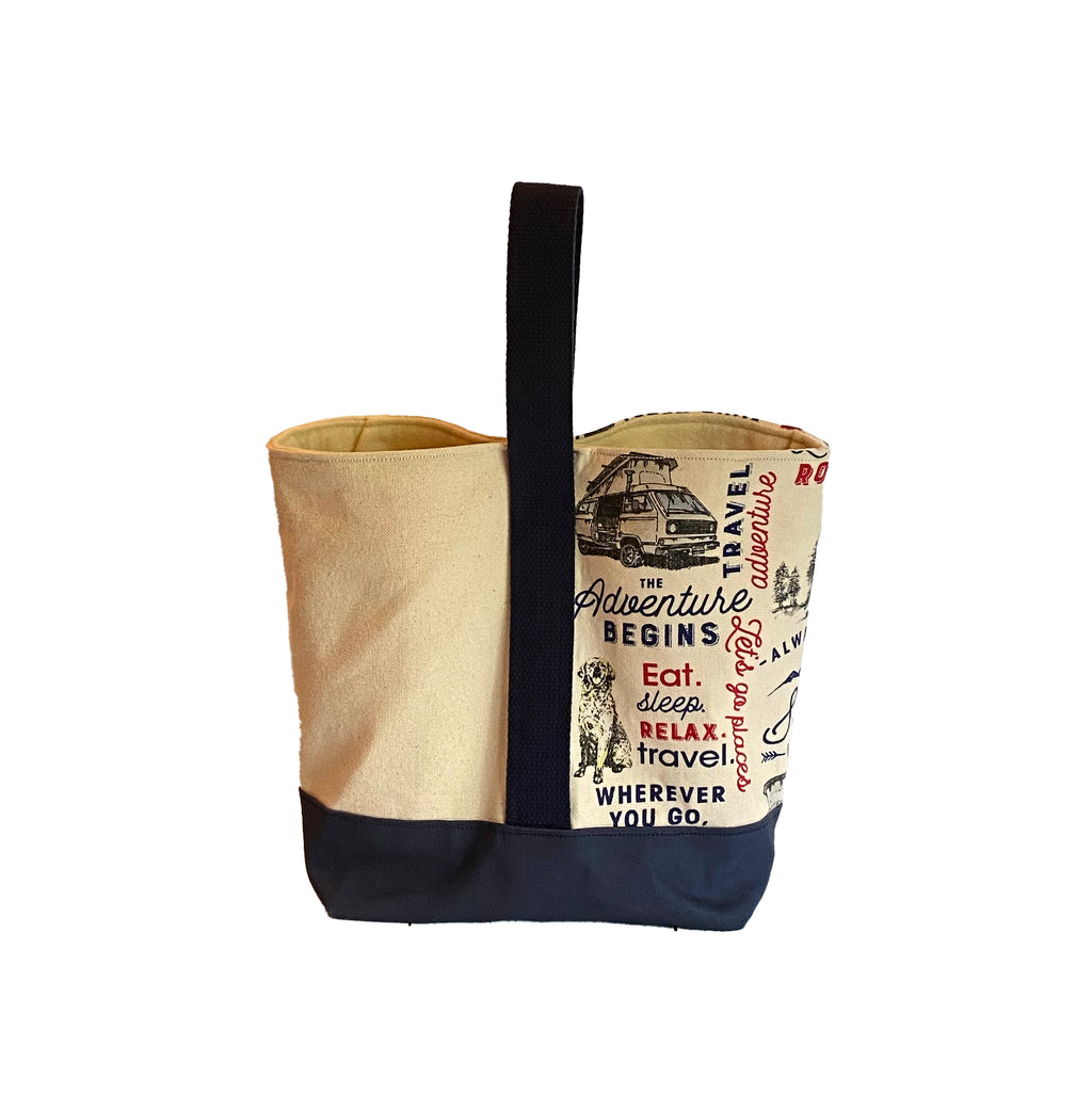 Wine Tote:  Scenic Road Trip [READ 'DETAILS' FOR DONATION INFO]