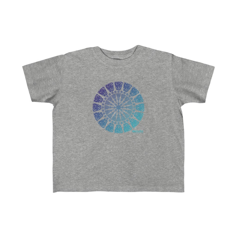 Mandala Blue: Toddler T-Shirt