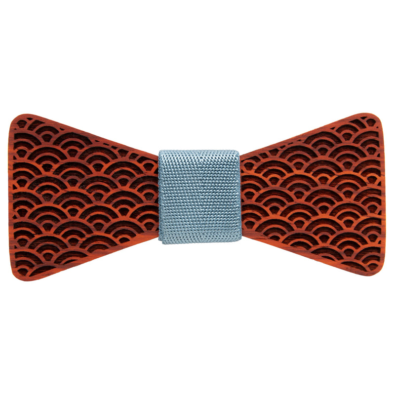 Japanese Hawaiian Padauk Wooden Bow Tie | Wood Bow Ties by OG Studio Creations