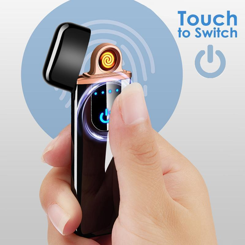 Rechargeable Usb Touch Lighter | Freaky Inventions