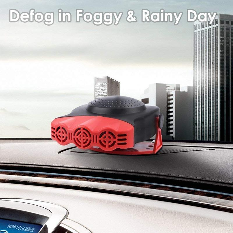 Defrost and Defog Car Heater | Freaky Inventions