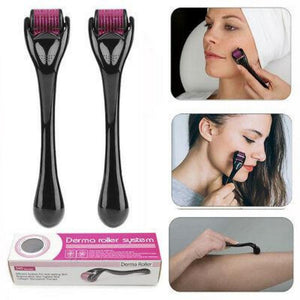 Dermal Roller Micro-needle For Face and Hair | Freaky Inventions