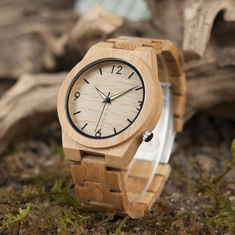 Wooden Watch with Wooden Strap | Freaky Inventions