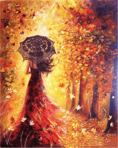 Autumn Fire Leaves VanGogh Kit | Freaky Inventions