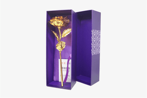 24K Gold Foiled Rose | Freaky Inventions