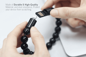 Onyx Ultimate Charging Bracelet | Freaky Inventions