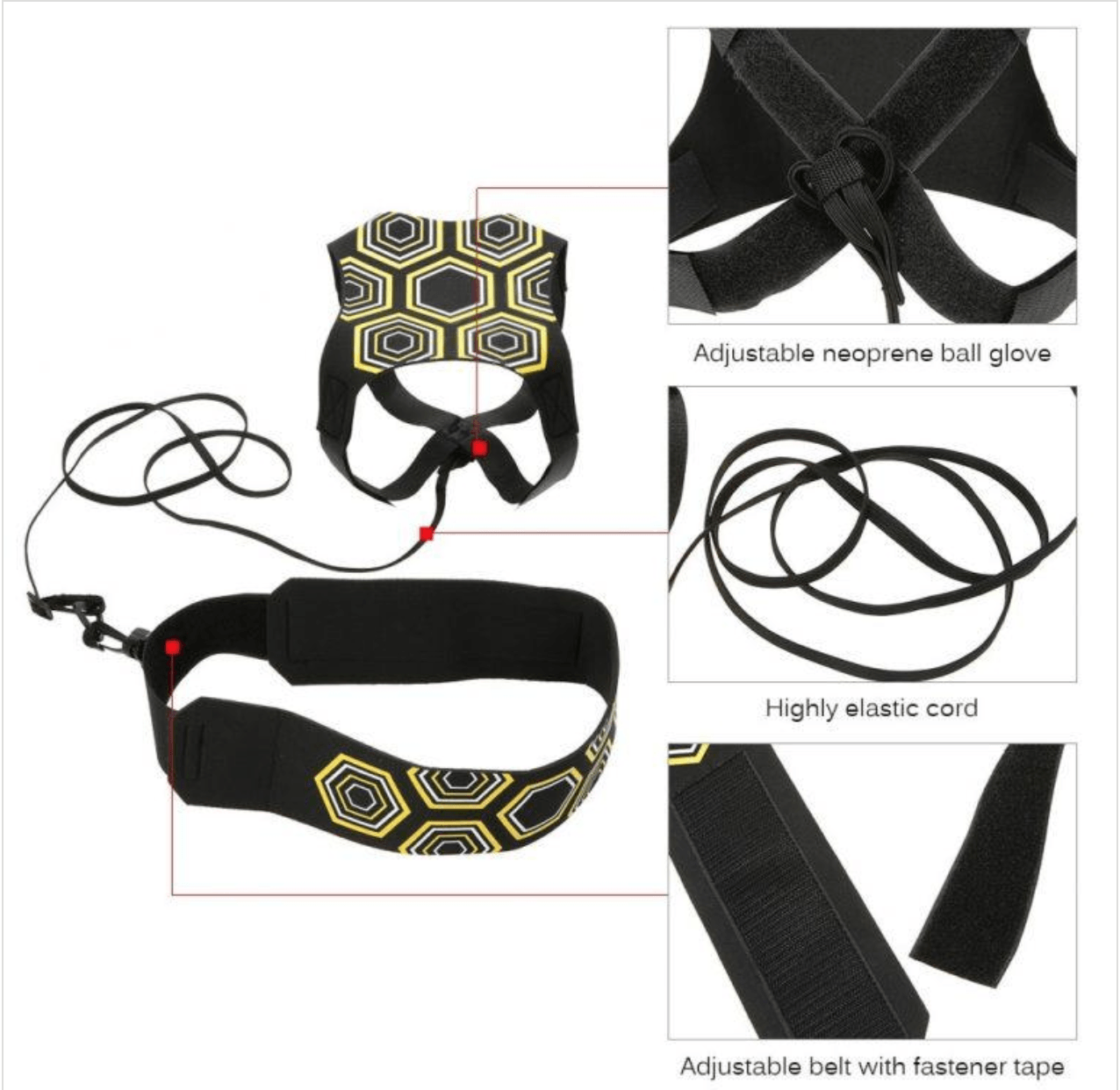 GDribb™ Professional Self Training Soccer Belt | Freaky Inventions