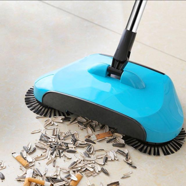 Magic Floor Sweeper Spinning Broom Cleaner | Freaky Inventions