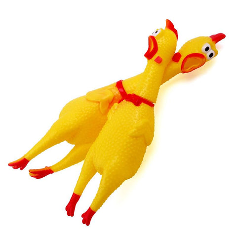 Screaming Rooster Pet Toy | Freaky Inventions
