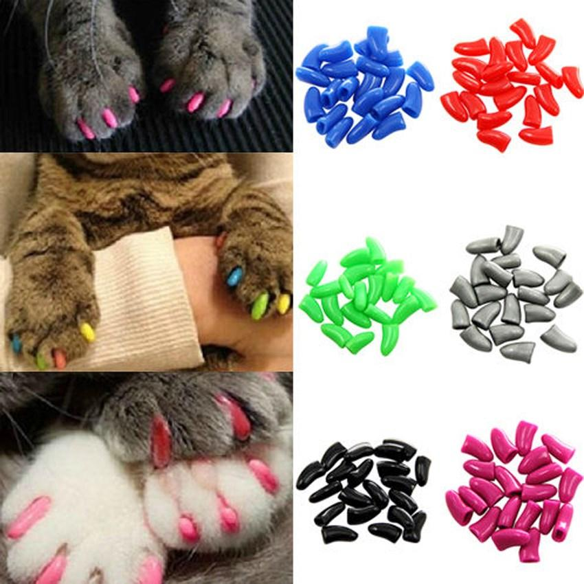 Dog/Cat Nail Caps (20 pcs) | Freaky Inventions